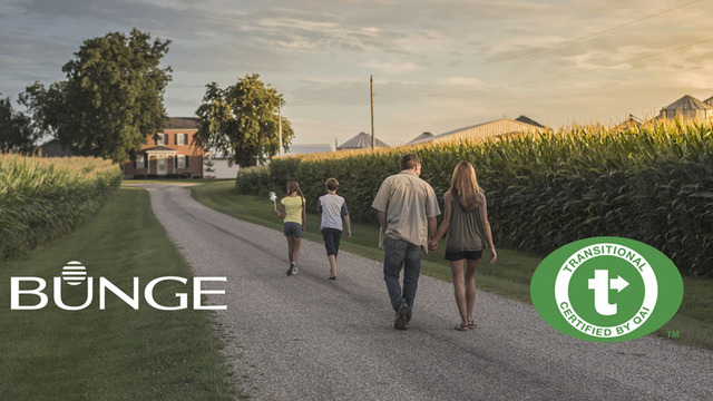 Bunge Introduces Certified Transitional Corn Ingredients