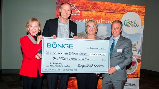 Bunge donates $1 million to St. Louis Science Center