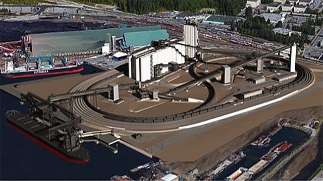 Le terminal de G3 de nouvelle génération pour l'exportation de céréales