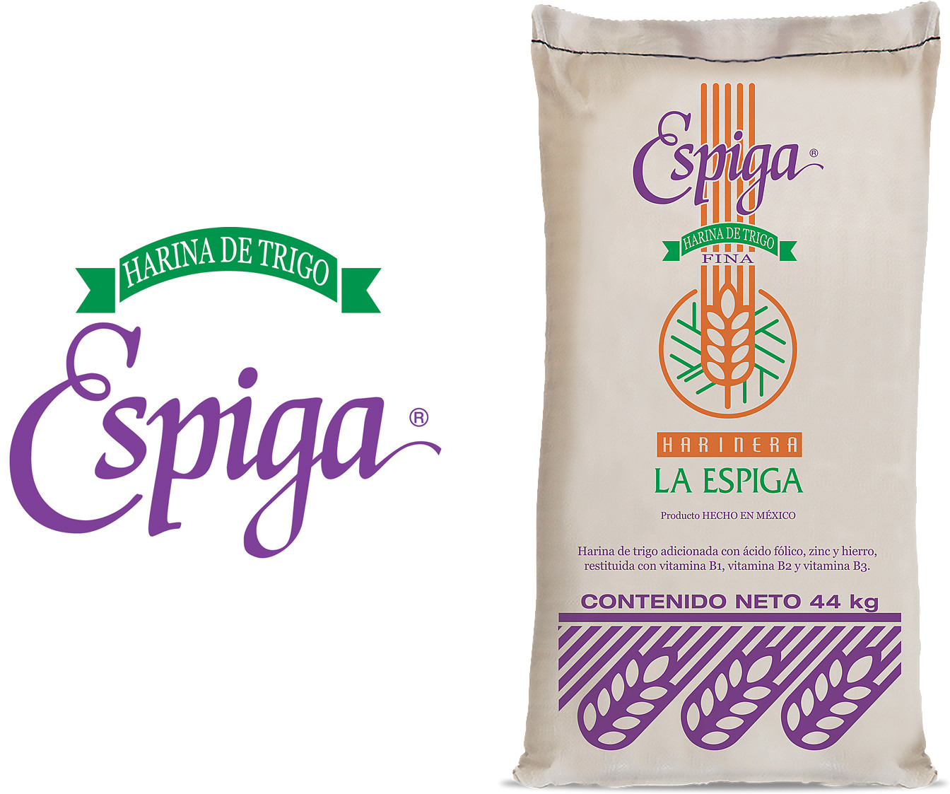 Espiga is the most recognized flour brand in the Mexican market.
