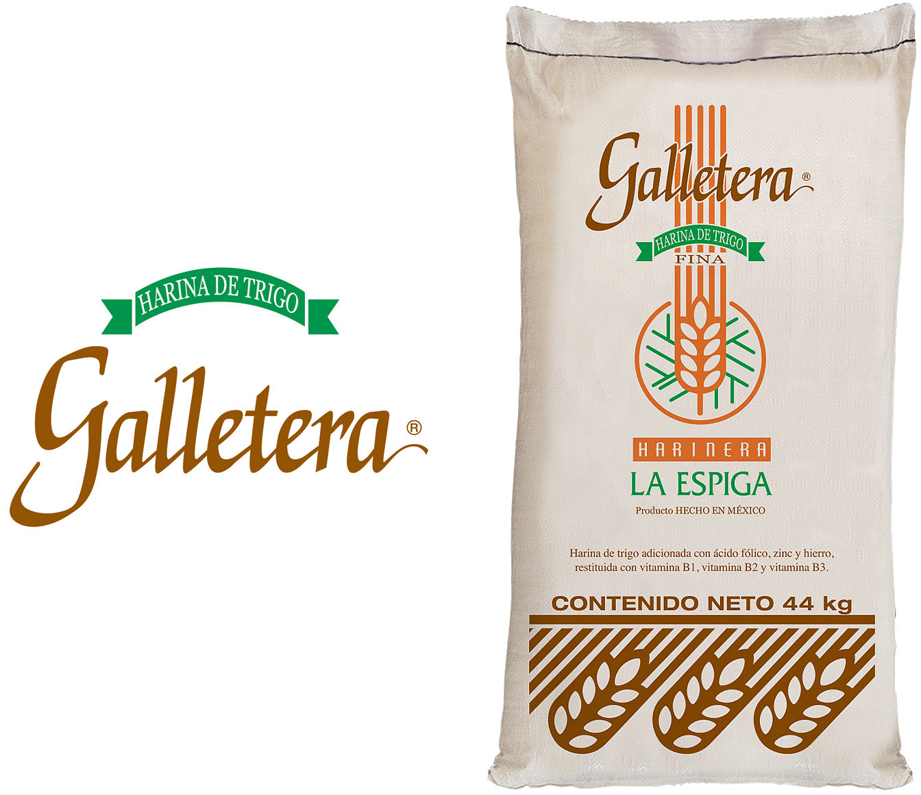 Galletera is a wheat flour especially suited for fine biscuits and cookies.