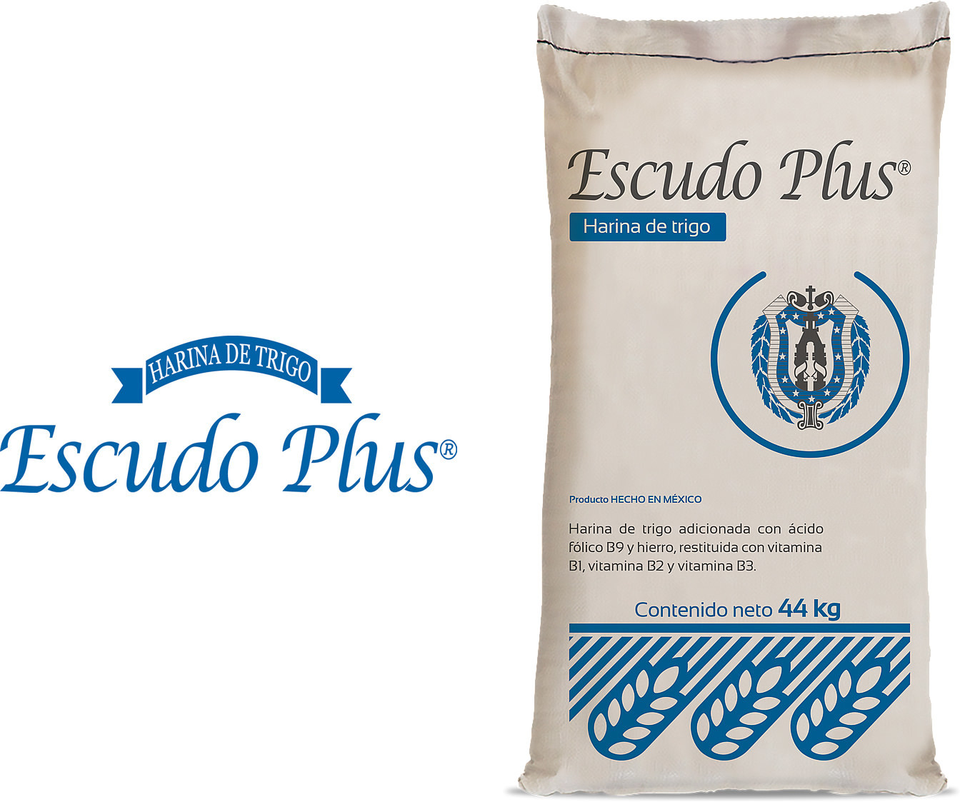 Escudo Plus is an all-purpose white flour.