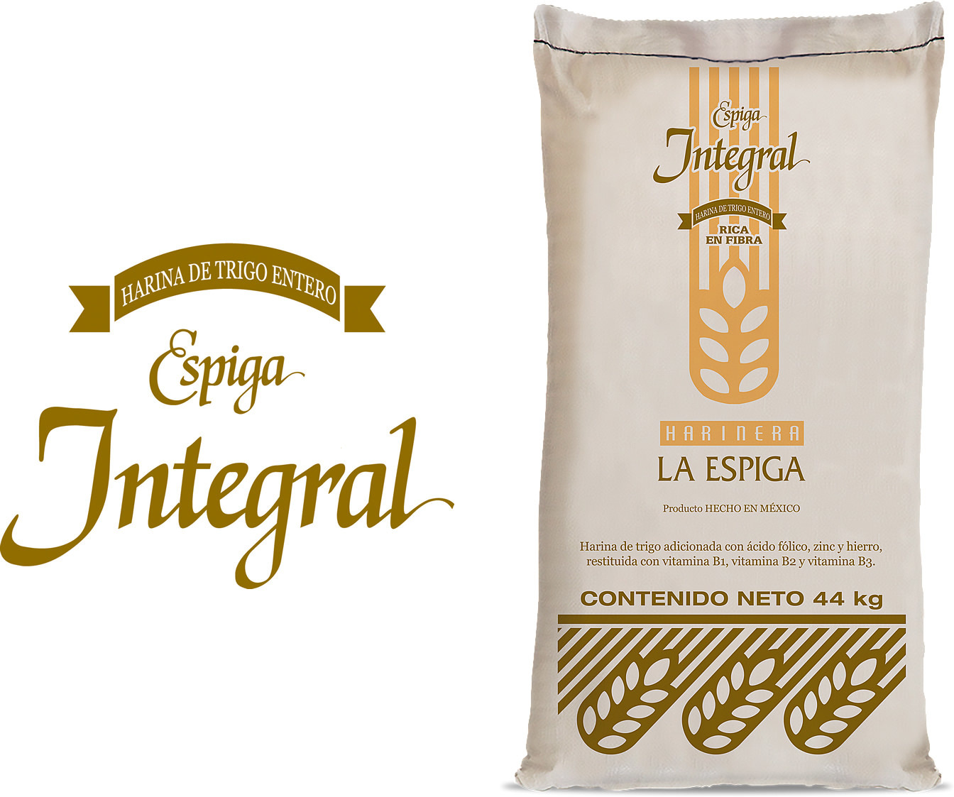Espiga Integral es ideal para todo tipo de pan integral.