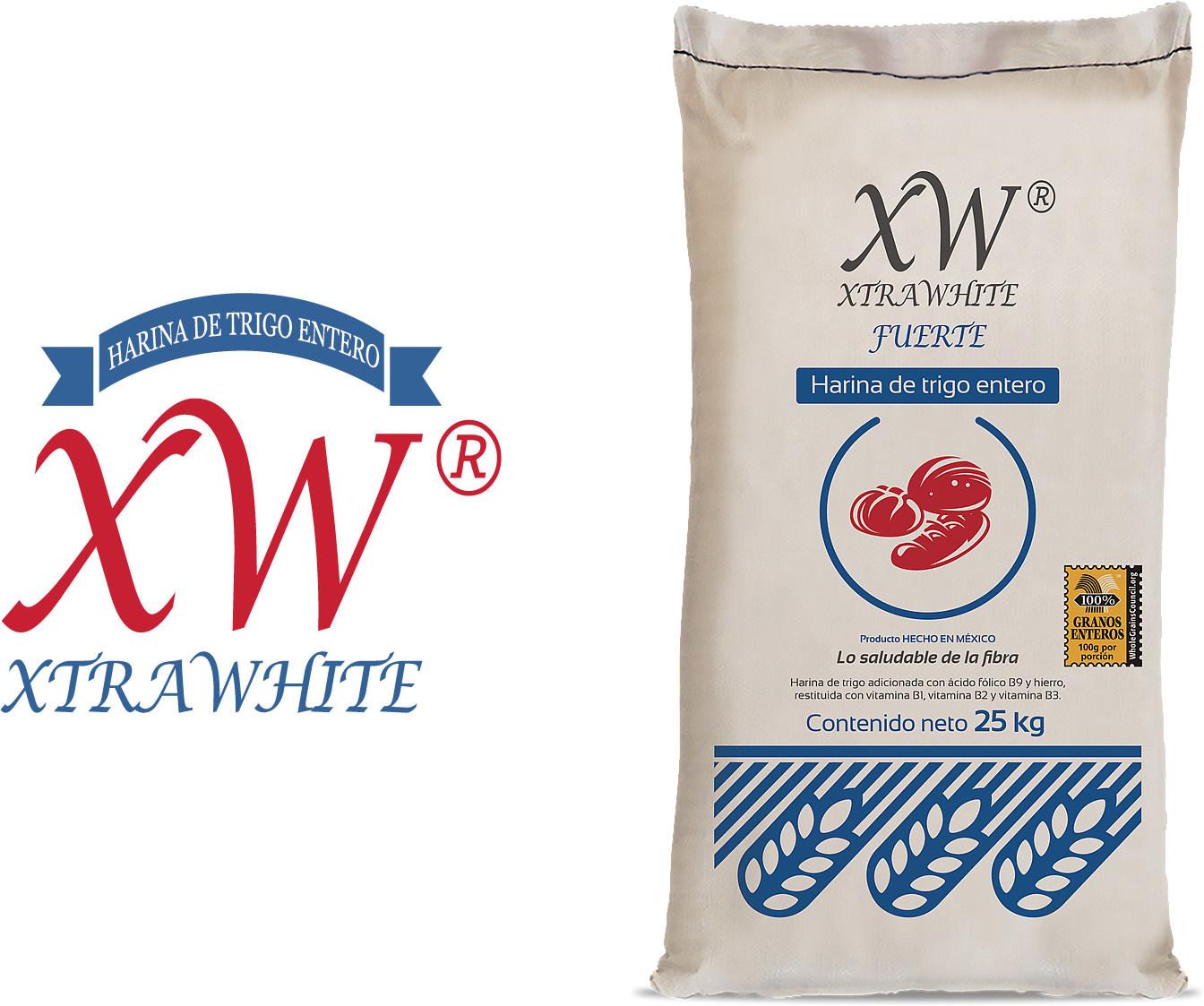 XtraWhite es nuestra harina multiusos 100% de trigo entero.