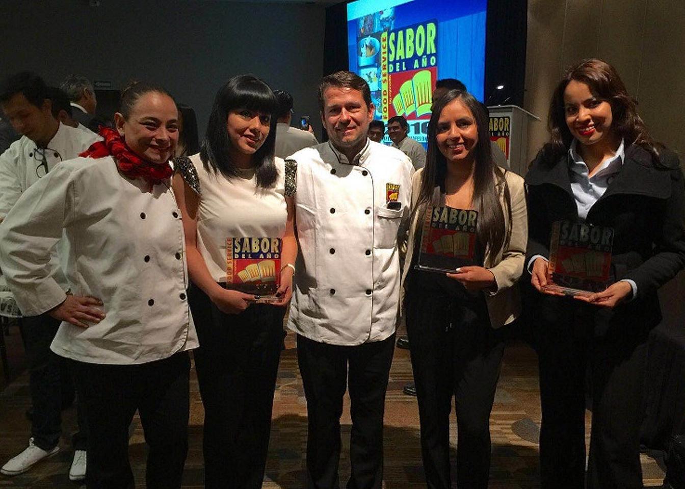 L'équipe de Bunge au Saveur de l'année 2016 (Taste of the Year).