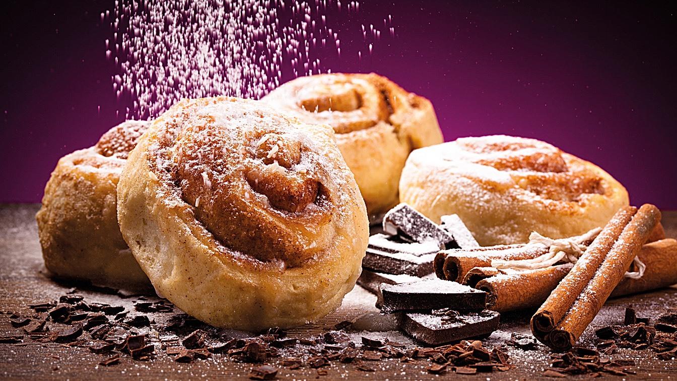 Pan de dulce tipo danés