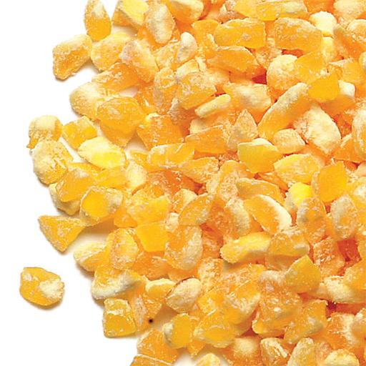 CCG 080 yellow coarse corn grits photo
