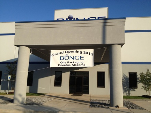 Bunge celebrates grand opening of its new packaging facility in Decatur, Ala.