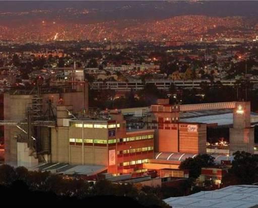 Harinera La Espiga, the largest wheat mill in the Mexico.