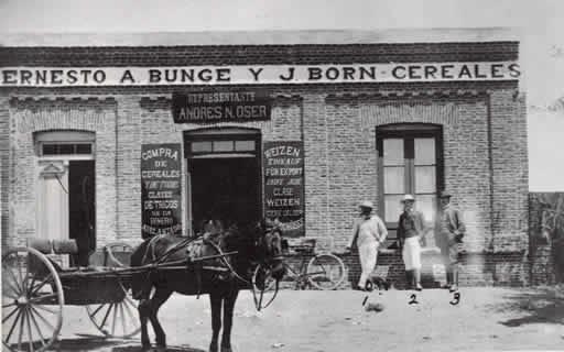La compagnie inaugure ses activités en Argentine pour le commerce des céréales.
