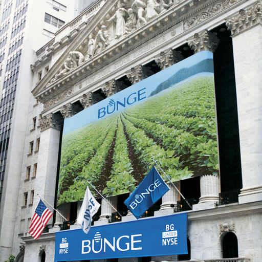 Le 2 août 2001, la société mère Bunge Limited entre à la bourse de New York (NYSE: BG).