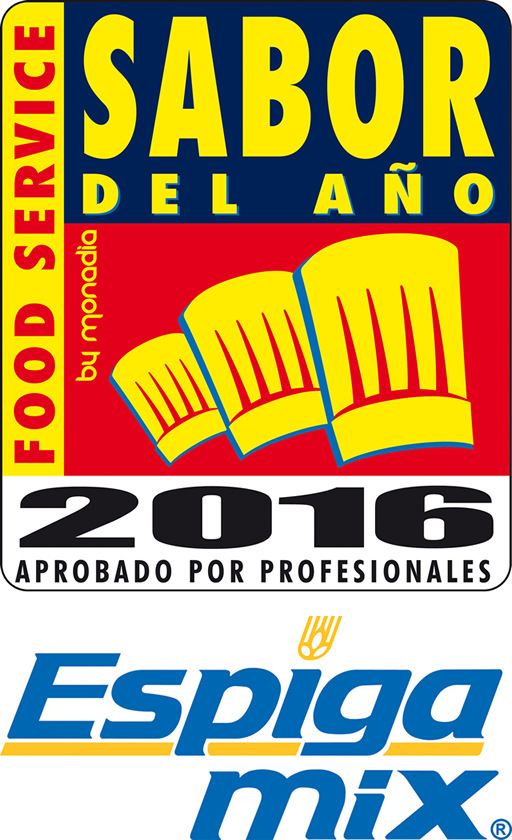 """Taste of the Year Food Service 2016"" Certification for Espiga Mixes."