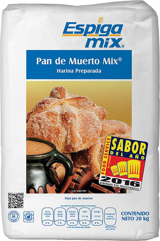 Pan de Muerto mix.