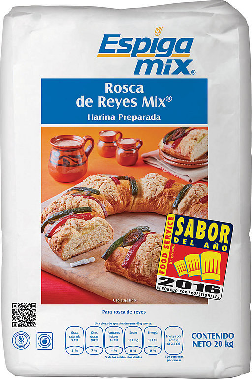 Rosca de Reyes Mix.